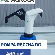 Pompa ręczna do NOXy® AdBlue® Agrola